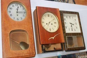 Вартість радянських настінних годинників з маятником