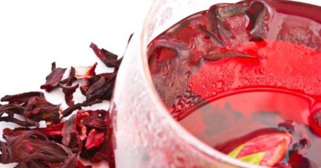 чай каркаде з суданської троянди