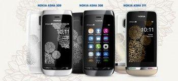 Телефони nokia asha до весни обзаведуться шармом