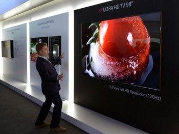 Телевізор від LG з роздільною здатністю 8k (Super Hi-Vision)
