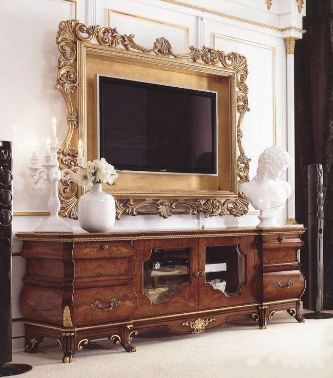 Телевізор у спальні як засіб дозвілля і частина інтер`єру (29 фото)
