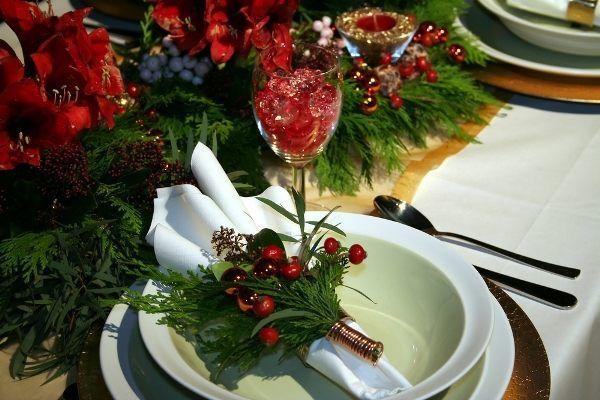 Фото прикрас новорічного столу