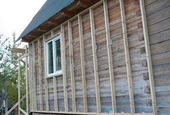 Утеплення дерев`яного будинку
