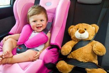 У 2017 році зміняться правила перевезення дітей в машині