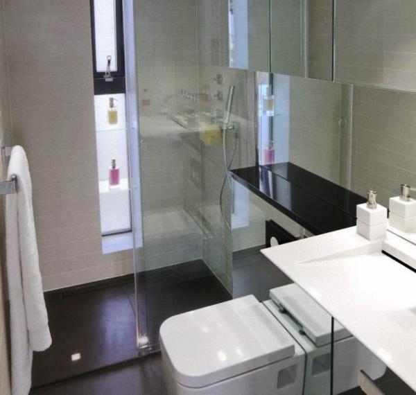 маленькі ванні кімнати з душовою кабіною фото