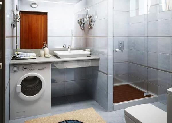 маленькі ванні кімнати з душовою кабіною фото 7
