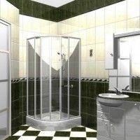 маленькі ванні кімнати з душовою кабіною фото 8
