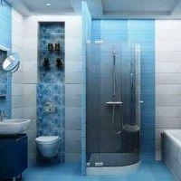 маленькі ванні кімнати з душовою кабіною фото 9