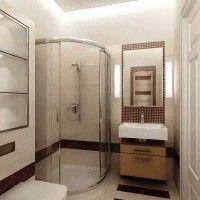 маленькі ванні кімнати з душовою кабіною фото 27