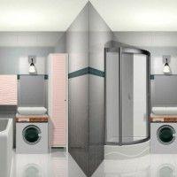 маленькі ванні кімнати з душовою кабіною фото 26