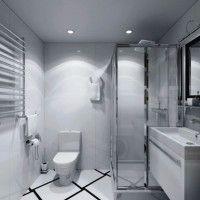 маленькі ванні кімнати з душовою кабіною фото 10