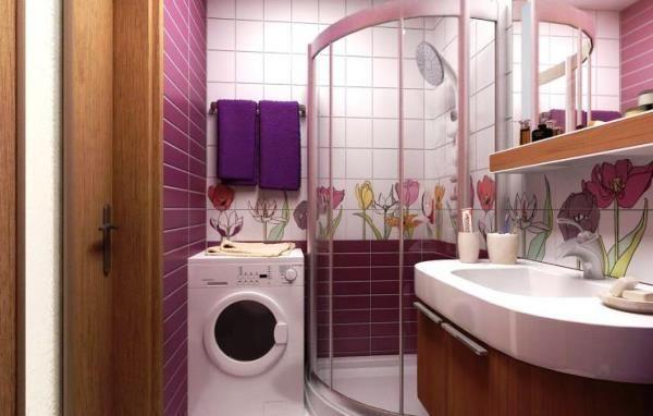 душові кабіни в маленьких ваннах фото ціни