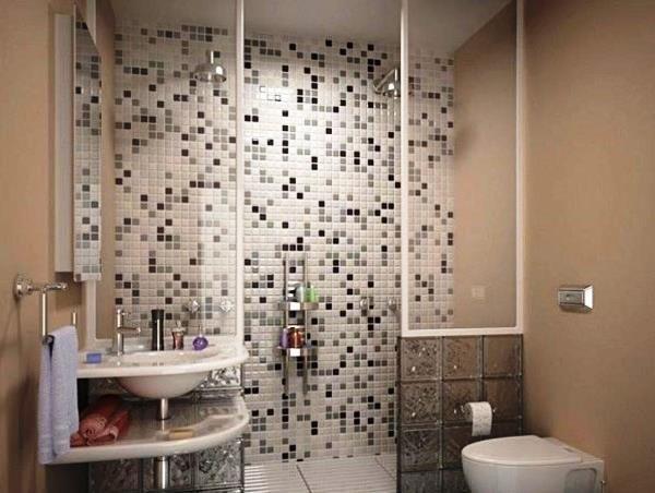 маленькі ванні кімнати з душовою кабіною фото 4