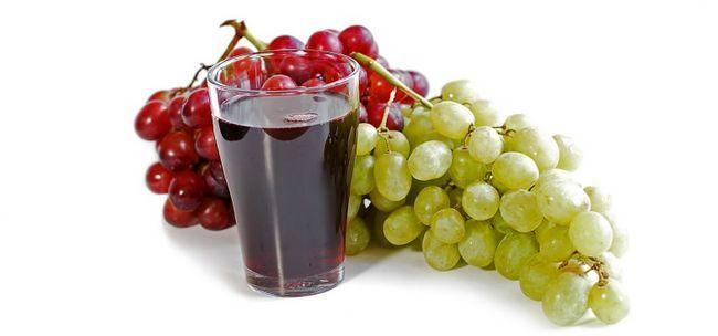 Виноградний сік: користь і шкода