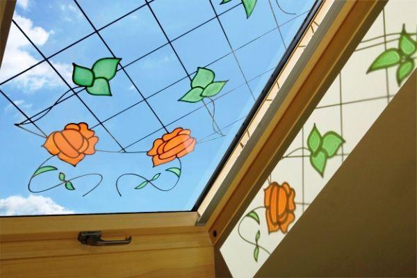 вітражі в інтер`єрі квартири фото 4