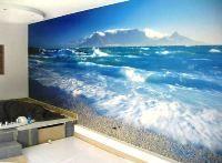 Зовнішній вигляд і фото шпалер 3д для стін: як виглядають шпалери з об`ємним зображенням?