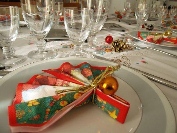 прикраса новорічного столу фото 8