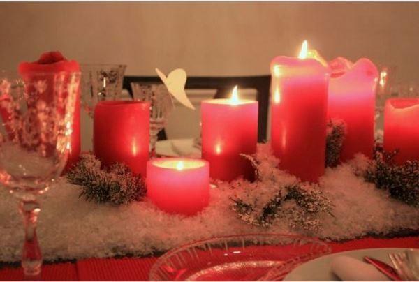 прикраса новорічного столу фото 9