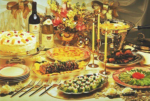 прикраса новорічного столу фото 12