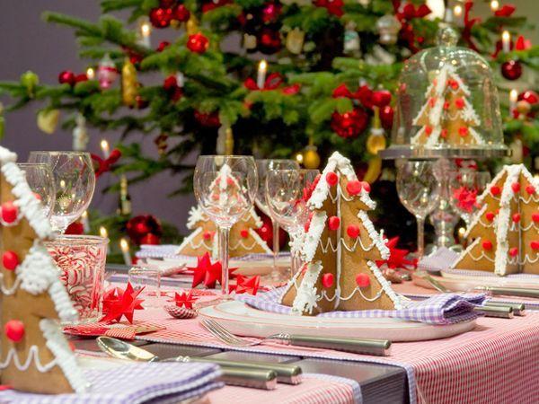 прикраса новорічного столу фото 3