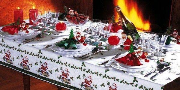 прикраса новорічного столу фото 4
