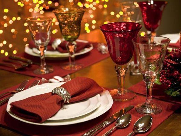 прикраса новорічного столу фото 7