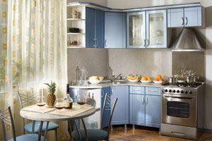Кутова малогабаритна кухня: варіанти дизайну +30 фото