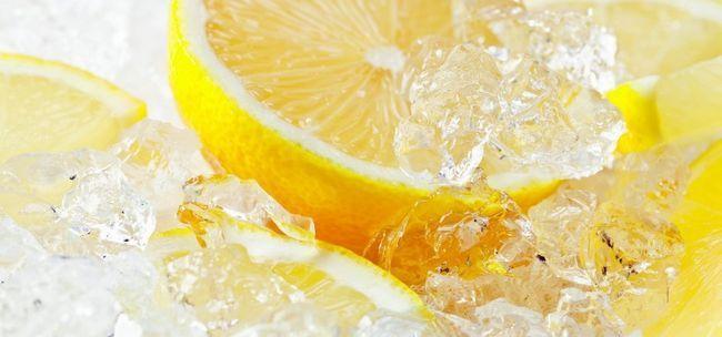 Заморожений лимон: користь і шкода